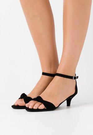 SUNSHINE  - Sandały - black