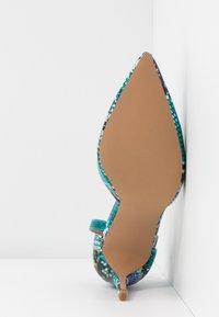 Dorothy Perkins - DEMI COURT SHOE - Escarpins à talons hauts - blue/multicolor - 6