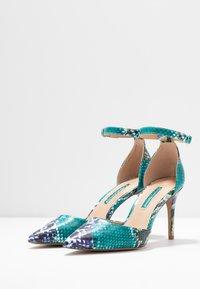 Dorothy Perkins - DEMI COURT SHOE - Escarpins à talons hauts - blue/multicolor - 4