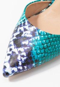 Dorothy Perkins - DEMI COURT SHOE - Escarpins à talons hauts - blue/multicolor - 2