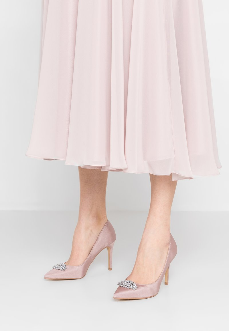 Dorothy Perkins - TRIM COURT SHOE - Zapatos altos - blush