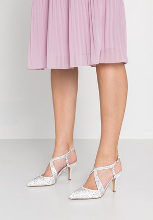 COVERAGE COURT SHOE - High heels - white