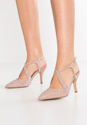 COVERAGE COURT SHOE - High heels - nude