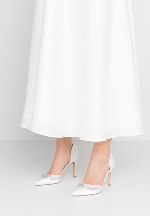 JEWELLED BRIDAL - High Heel Pumps - white