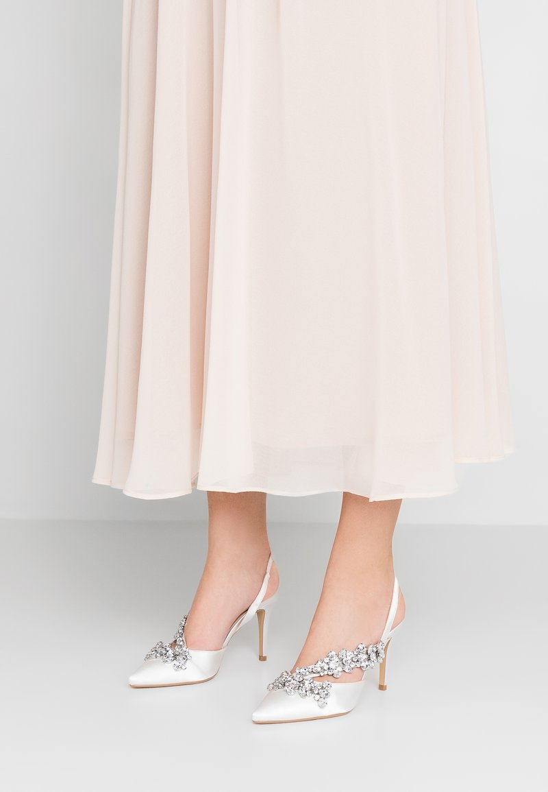 Dorothy Perkins - ASYMETTRIC BRIDAL - High heels - white