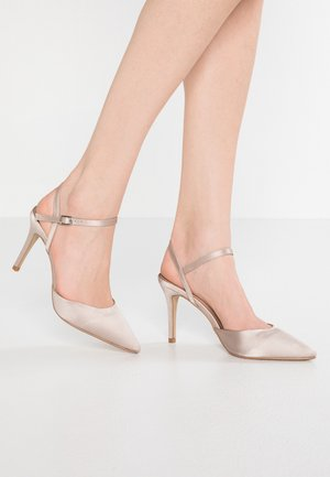 2 PART SLINGBACK COURT - Decolleté - champagne