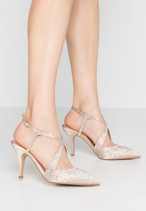 COVERAGE - High heels - champagne gold