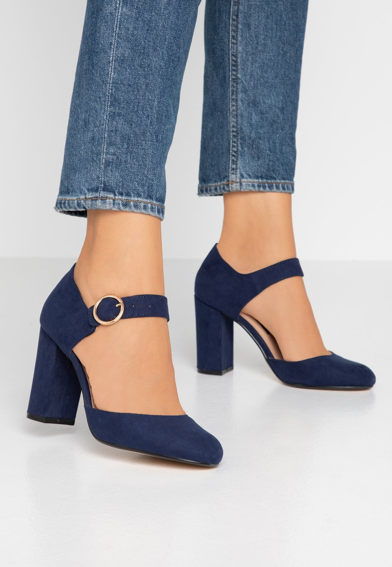 Dorothy Perkins - DANTE MARY JANE COURT - High Heel Pumps - navy
