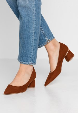 DRAGONFLY CYLINDER HEEL COURT - Pumps - tan
