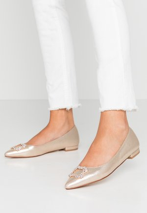 PEYTON SQUARE JEWEL  - Ballerines - gold