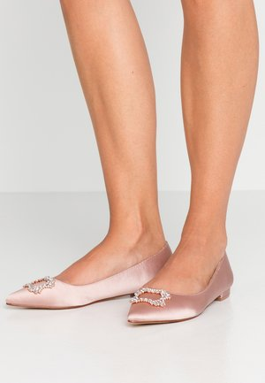 PEYTON SQUARE JEWEL  - Ballet pumps - blush