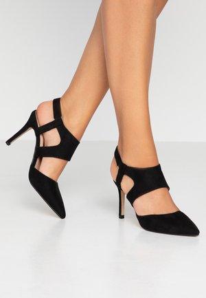 ELEVEN TWO PART OPEN COURT - High heels - black