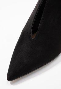 Dorothy Perkins - ELLEN VAMP - Lodičky na vysokém podpatku - black - 2