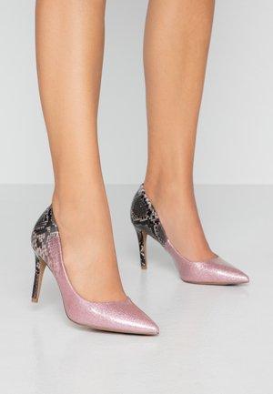EDEN COURT SHOES - Korolliset avokkaat - pink