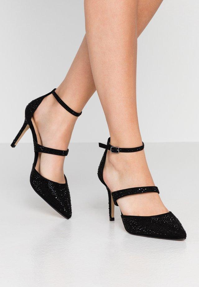 GINGERA ALL OVER TRIM COURT SHOE - High heels - black