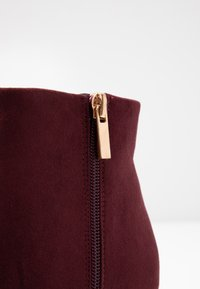Dorothy Perkins - ALEXI SHOE POINT - Ankle boots - burgundy - 2