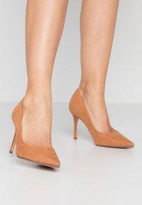 Dorothy Perkins - DELE POINT COURT - High heels - tan - 0