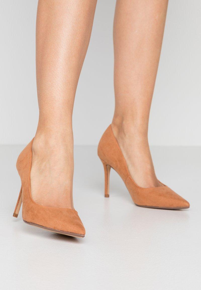 Dorothy Perkins - DELE POINT COURT - High heels - tan