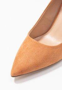 Dorothy Perkins - DELE POINT COURT - High heels - tan - 2