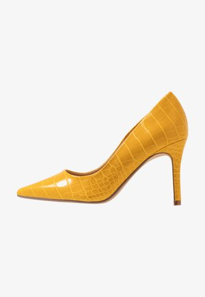 DELE POINT COURT - High heels - yellow