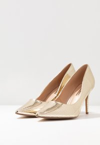 Dorothy Perkins - DELE POINT COURT - Escarpins à talons hauts - gold - 4