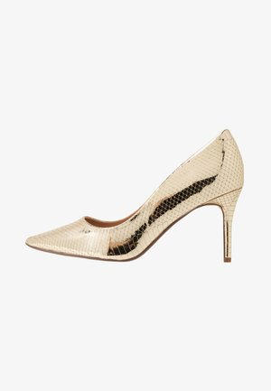DELE POINT COURT - High heels - gold