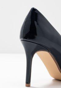 Dorothy Perkins - DELE POINT COURT - High heels - navy - 2