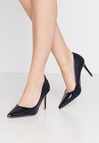 Dorothy Perkins - DELE POINT COURT - High heels - navy - 0