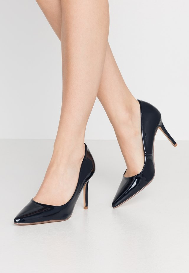 DELE POINT COURT - High Heel Pumps - navy