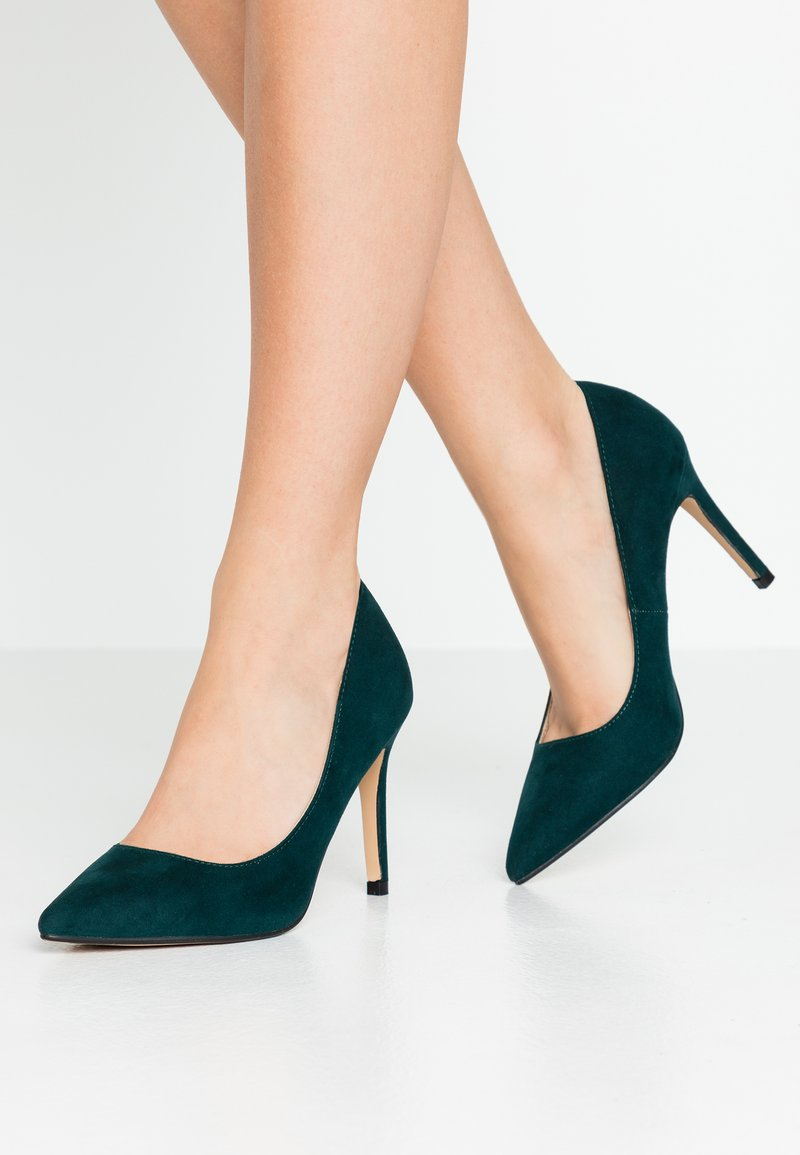 Dorothy Perkins - DELE POINT COURT - Korolliset avokkaat - green