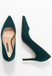 Dorothy Perkins - DELE POINT COURT - Korolliset avokkaat - green - 3