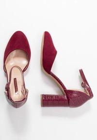 Dorothy Perkins - DEENA - High heels - burgundy - 3