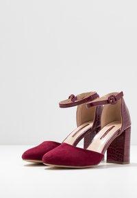 Dorothy Perkins - DEENA - High heels - burgundy - 4