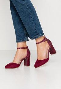 Dorothy Perkins - DEENA - High heels - burgundy - 0