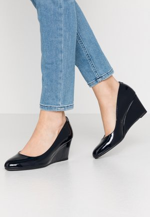 DREAMER WEDGE COURT - Sleehakken - navy