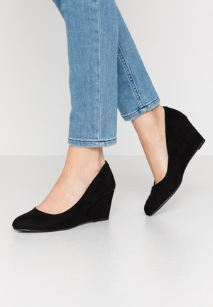 DREAMER WEDGE COURT - Kiler - black