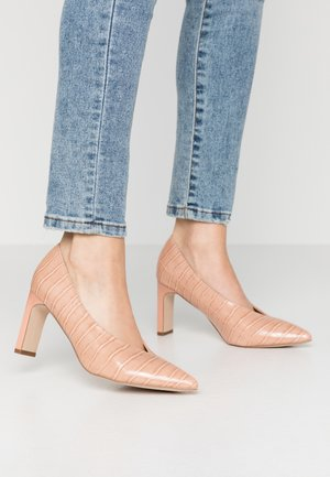 DEAN CENTRE SEAM COURT - Tacones - blush