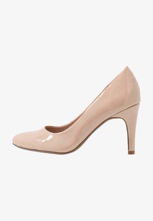 DEEDEE TOECOMFORT COURT - High heels - nude