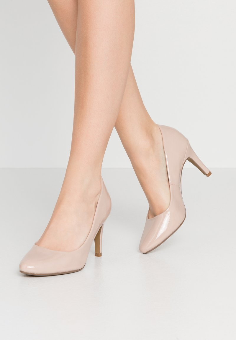 Dorothy Perkins - DEEDEE TOECOMFORT COURT - High heels - nude