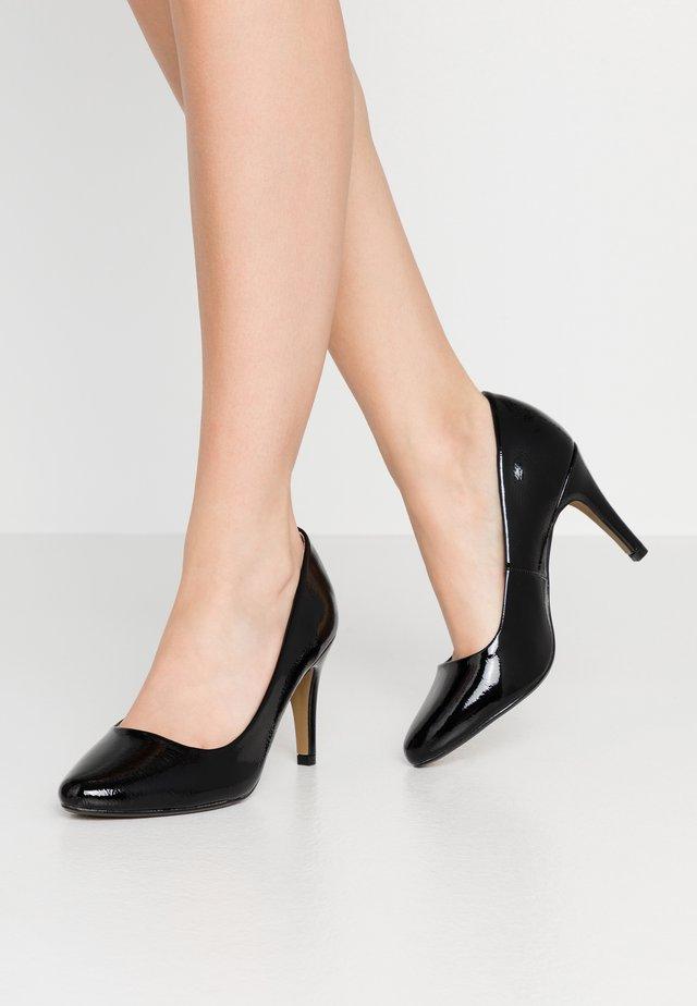 DEEDEE TOECOMFORT COURT - High heels - black