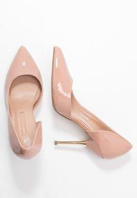Dorothy Perkins - DESSIE PIN COURT - High heels - nude - 3