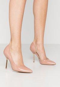 Dorothy Perkins - DESSIE PIN COURT - High heels - nude - 0