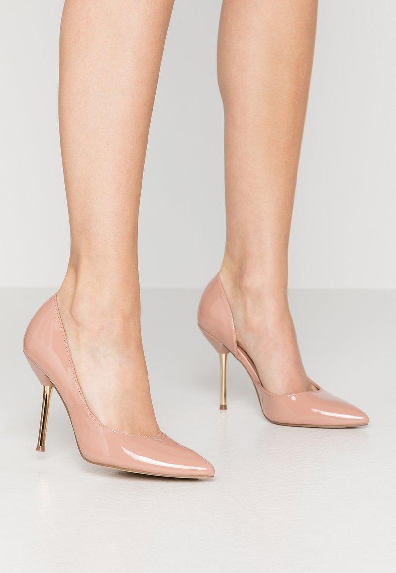 Dorothy Perkins - DESSIE PIN COURT - High heels - nude