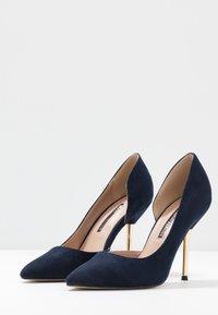 Dorothy Perkins - DESSIE PIN COURT - High heels - navy - 4