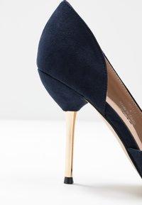 Dorothy Perkins - DESSIE PIN COURT - High heels - navy - 2