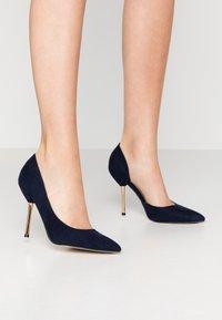 Dorothy Perkins - DESSIE PIN COURT - High heels - navy - 0