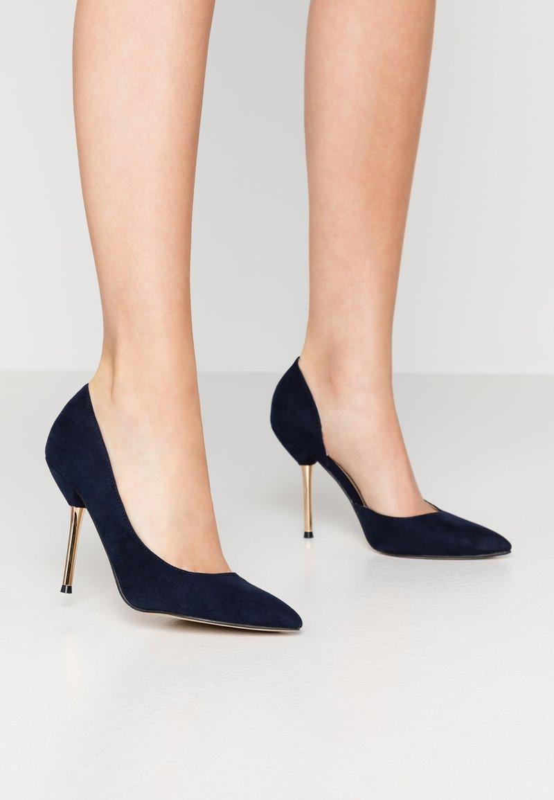 Dorothy Perkins - DESSIE PIN COURT - High heels - navy