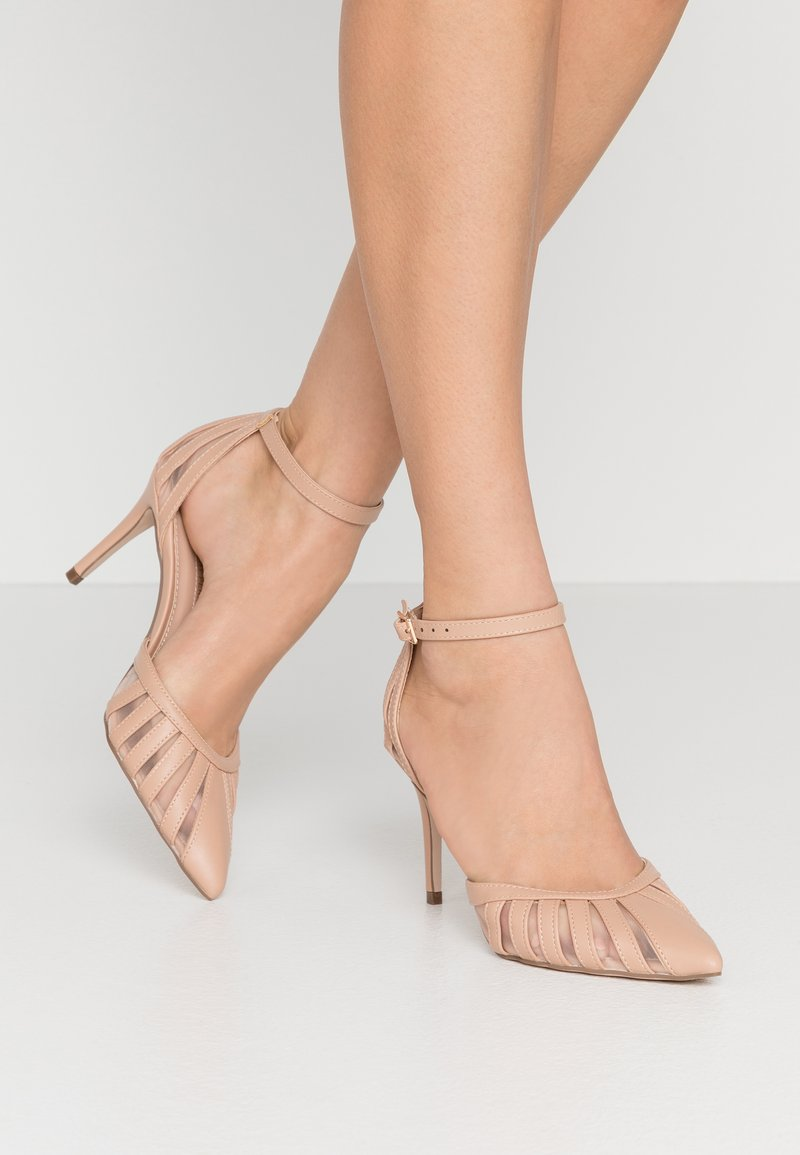 Dorothy Perkins - DEMY COURT - High heels - blush