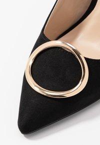 Dorothy Perkins - EMMY RING STILETTO COURT - High heels - black - 2