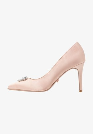 GRAZIE JEWEL COURT - Højhælede pumps - blush